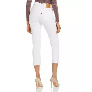 Levi's Wedgie high rise cropped jeans 34x26 NWT